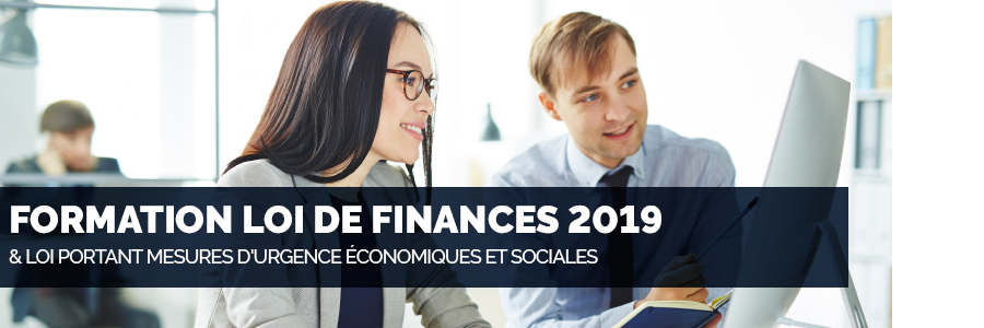 formation loi de finances 2019