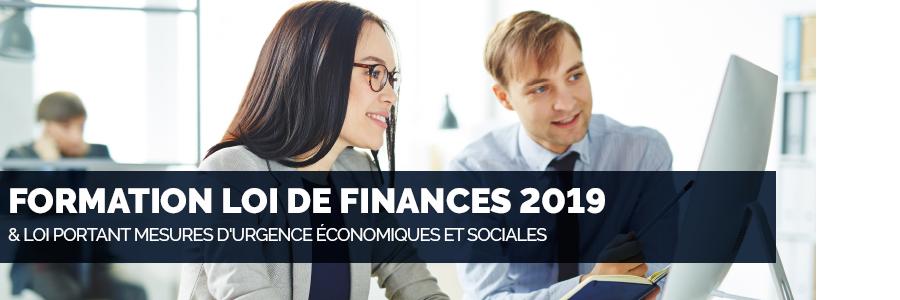 formation loi de finances 2019